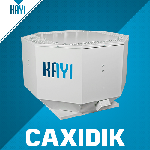 CAXIDIK - Roof Mounted Vertical Discharge Axial Fan
