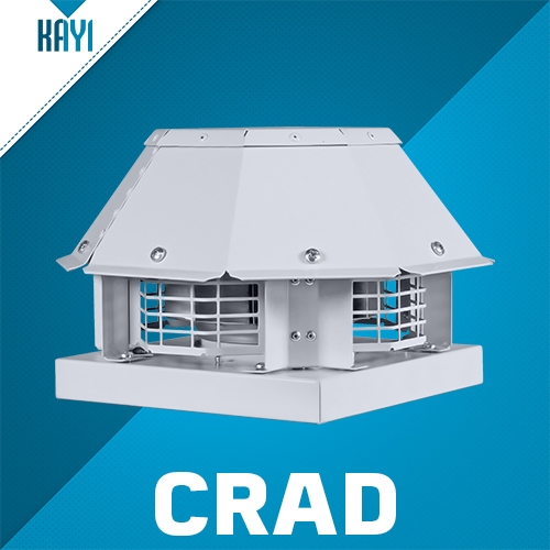 CRAD - Roof Mounted Horizontal Discharge Centrifugal Fan